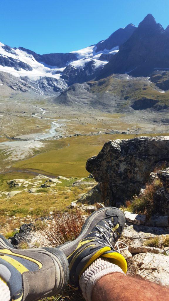 Vallée de la Lenta, sur la route de l'Iseran