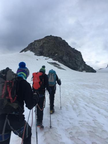 6H30 : Montée glacier