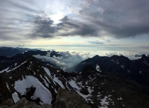 7H35 : Sommet de la pointe Francesetti